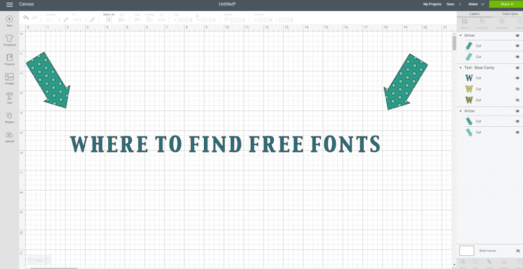 Where to find free fonts