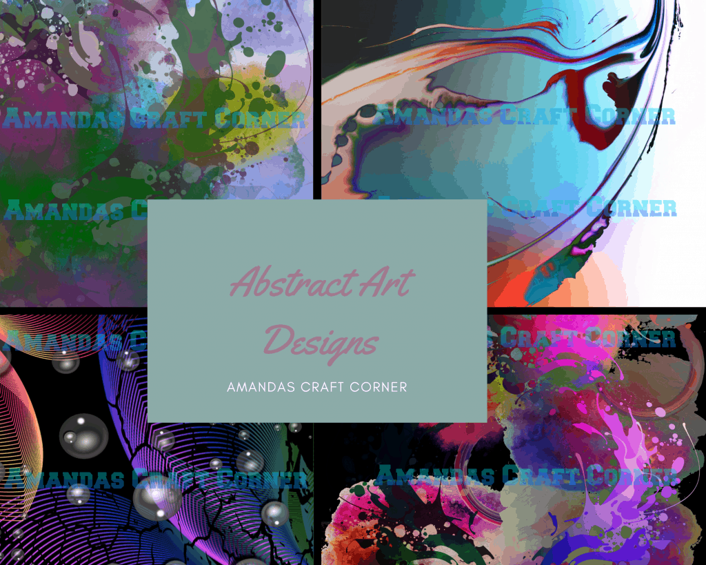 Abstract Art And POD sites