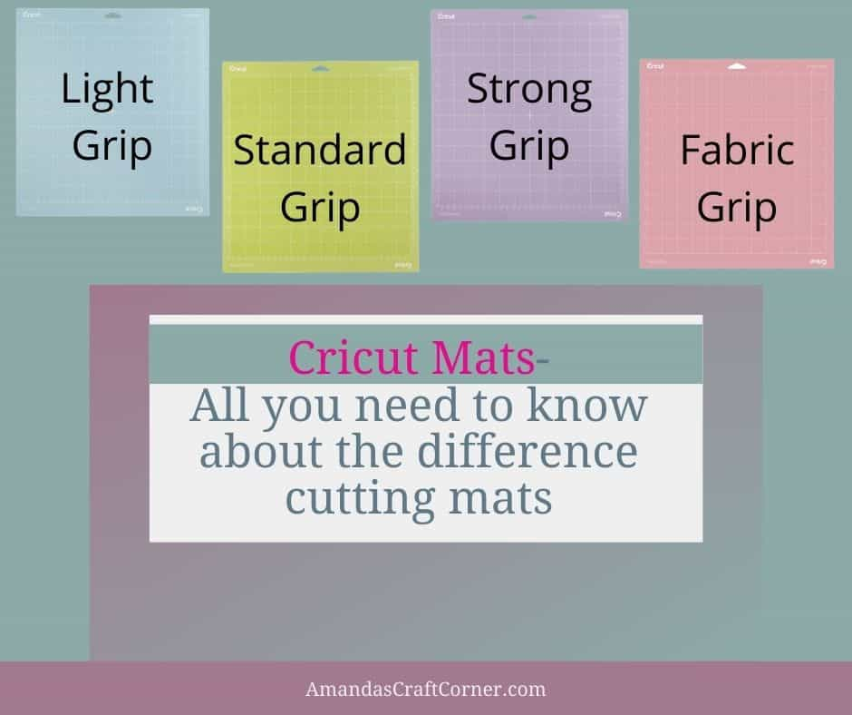 Cricut Cutting Mats- All you need to know