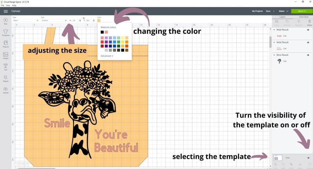 Working with templates in cricut design space. What are templates? Where do I find them? How do I use and upload a template?