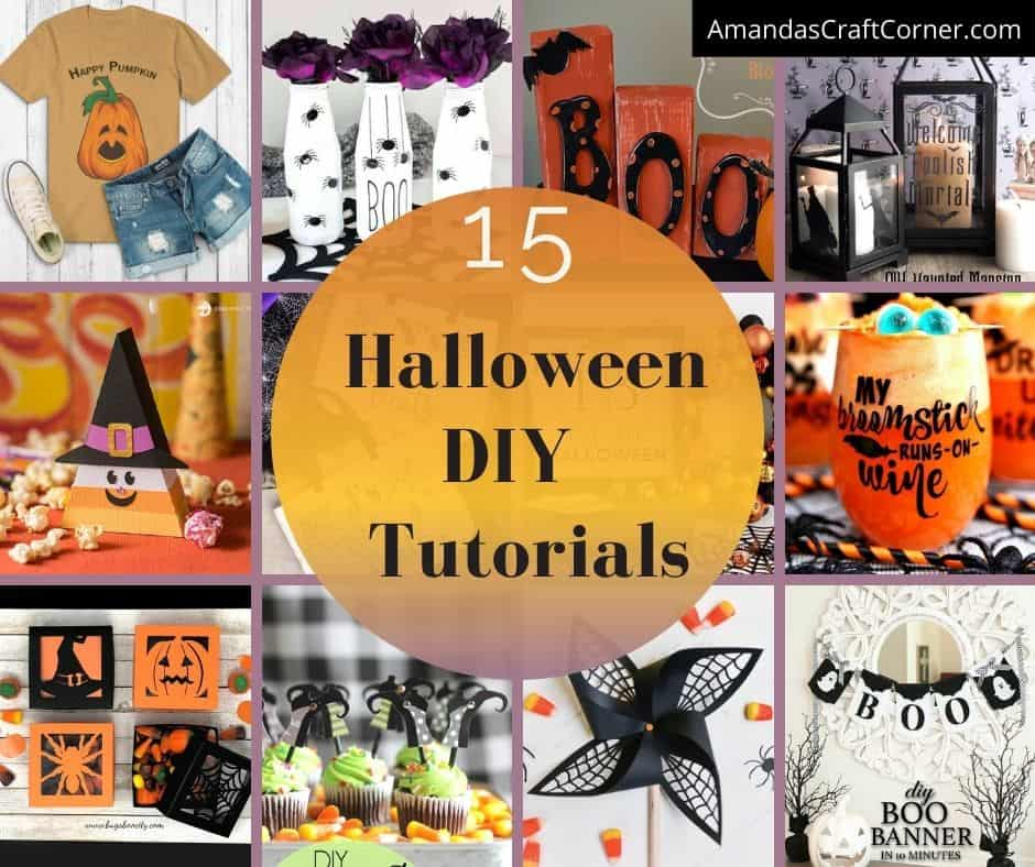 Halloween DIY Tutorials