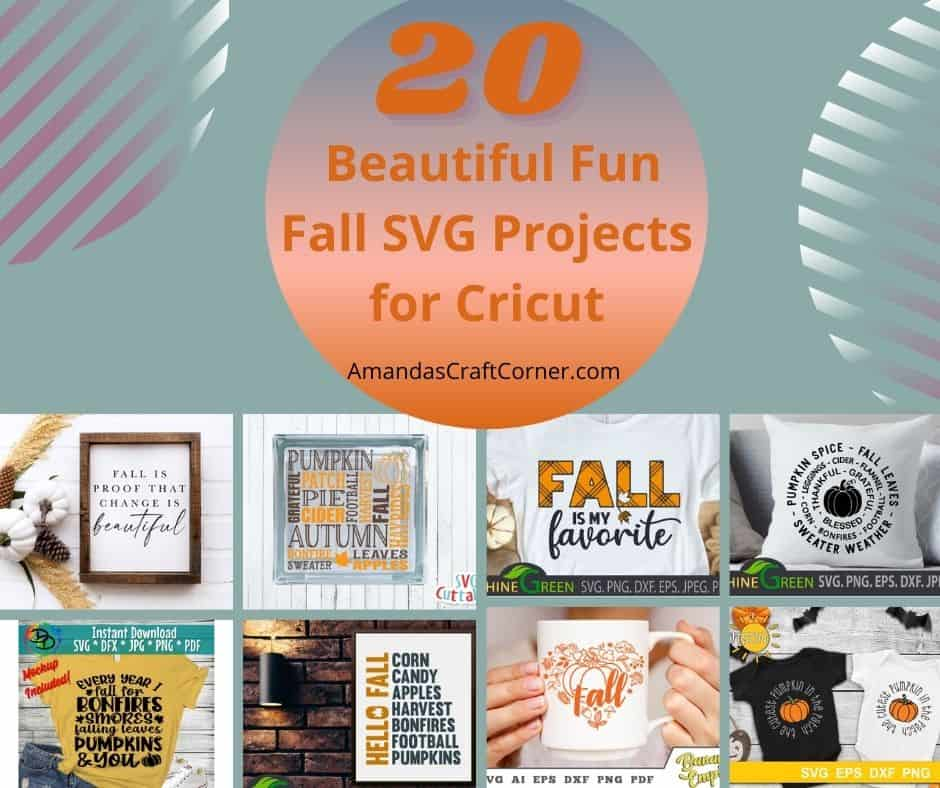Beautiful Fun Fall SVG Projects