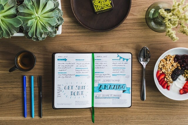 Gratitude Journal are the best ways to start and end each and every day! You can start your day by writing 3-5 things you are truly grateful for.