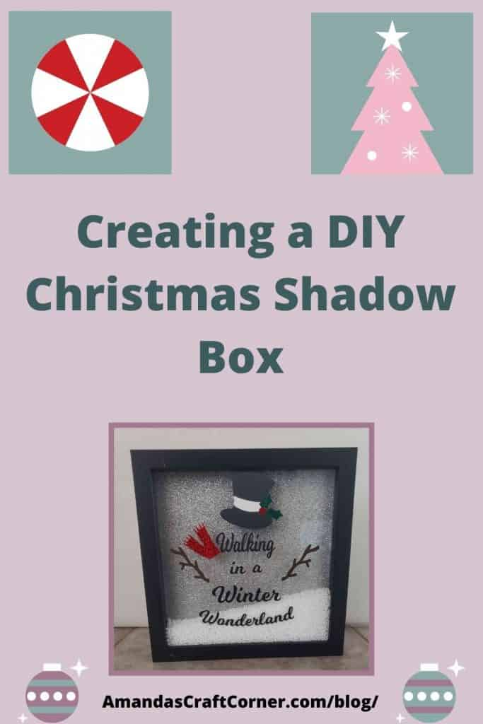 Creating a DIY Christmas Shadow Box