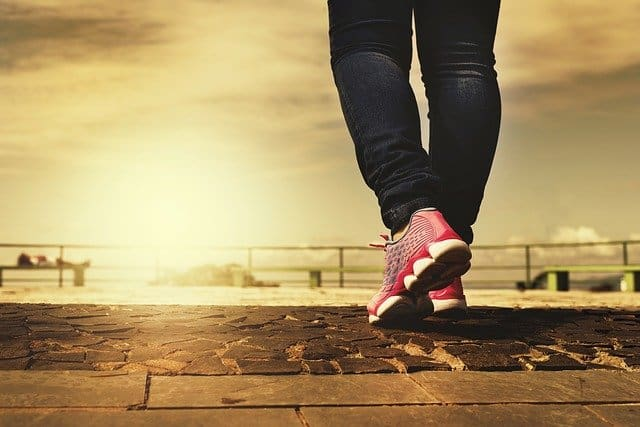A way to get healthier as part of our New Year's Resolution is getting those steps in by walking or running