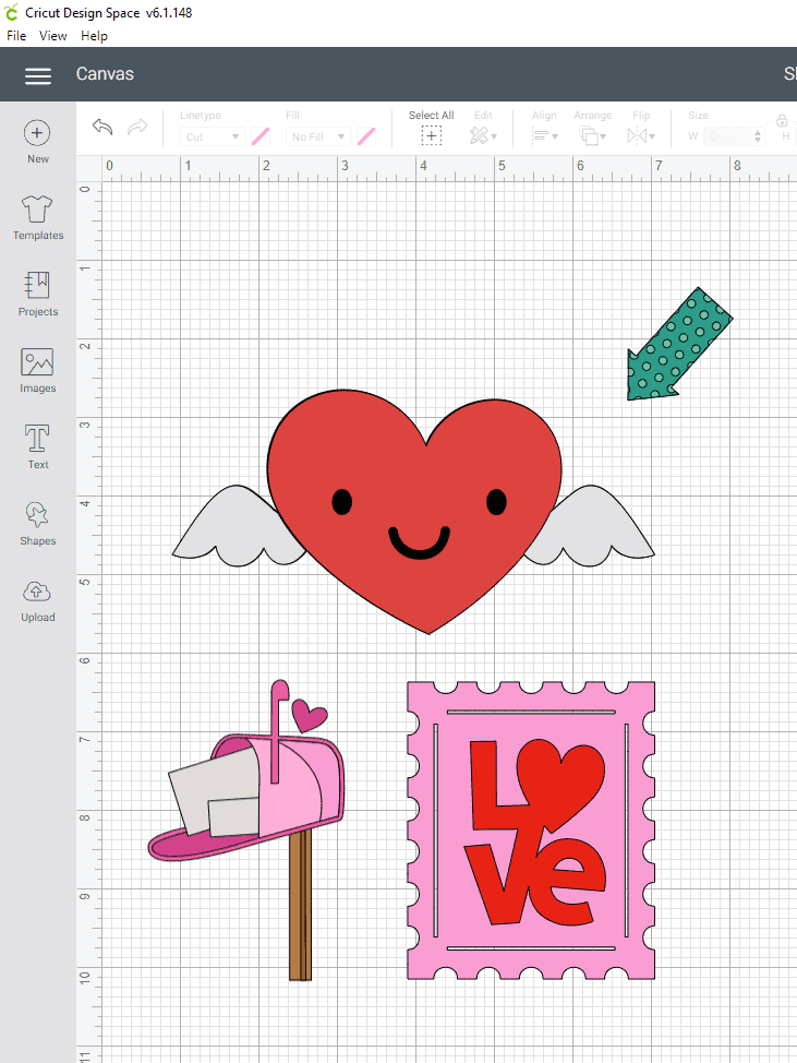 Finding the Valentines Day Images to go into our Slot machine reels