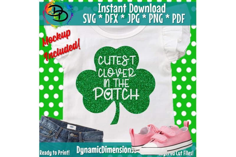 Cutest little Clover in the Patch SVG