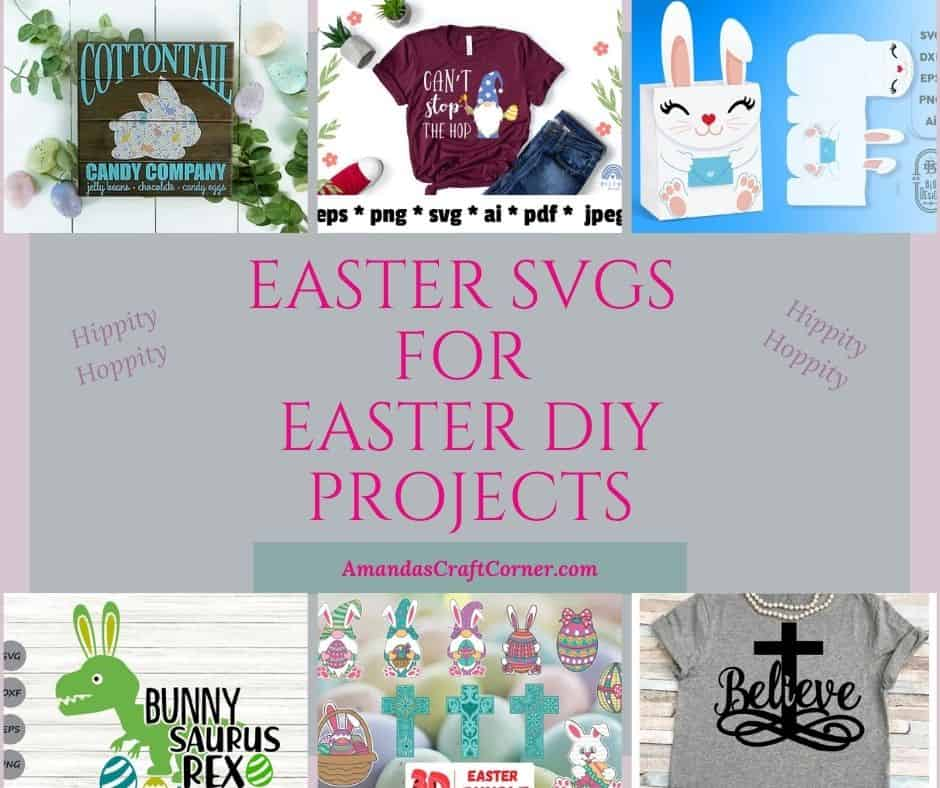 Easter SVGs for some Easter DIY Projects