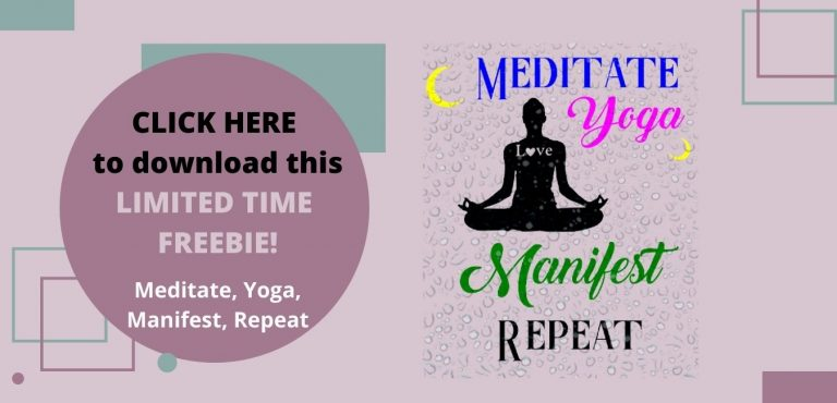 Meditate, Yoga, Manifest, Repeat SVG Limited time offer