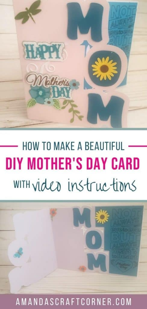 Creating and putting together a Beautiful DIY Mother's day card. We will start from scratch and build it together in this fun video tutorial