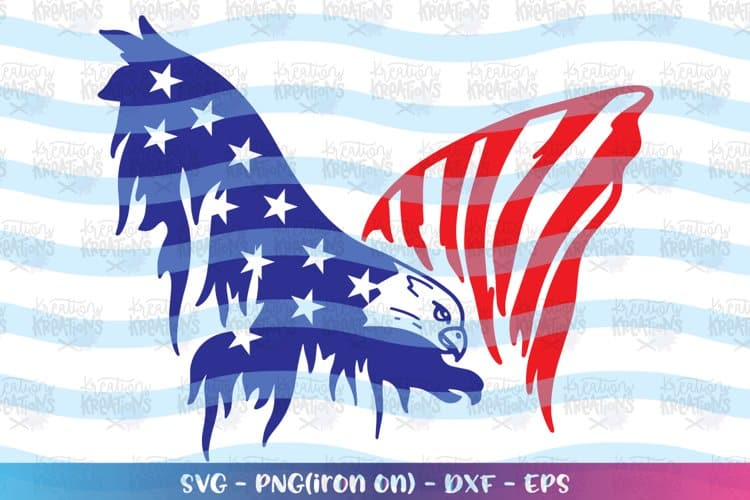 4th of July Day Eagle