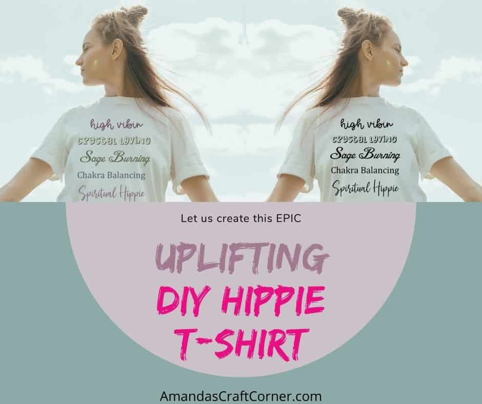 How to create an Epic Uplifting DIY Hippie T-shirt